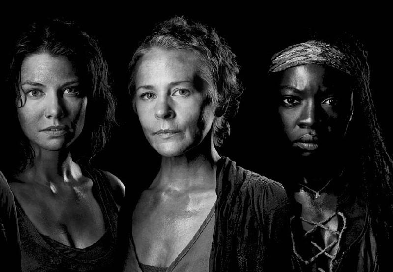 femmes dans the walking dead