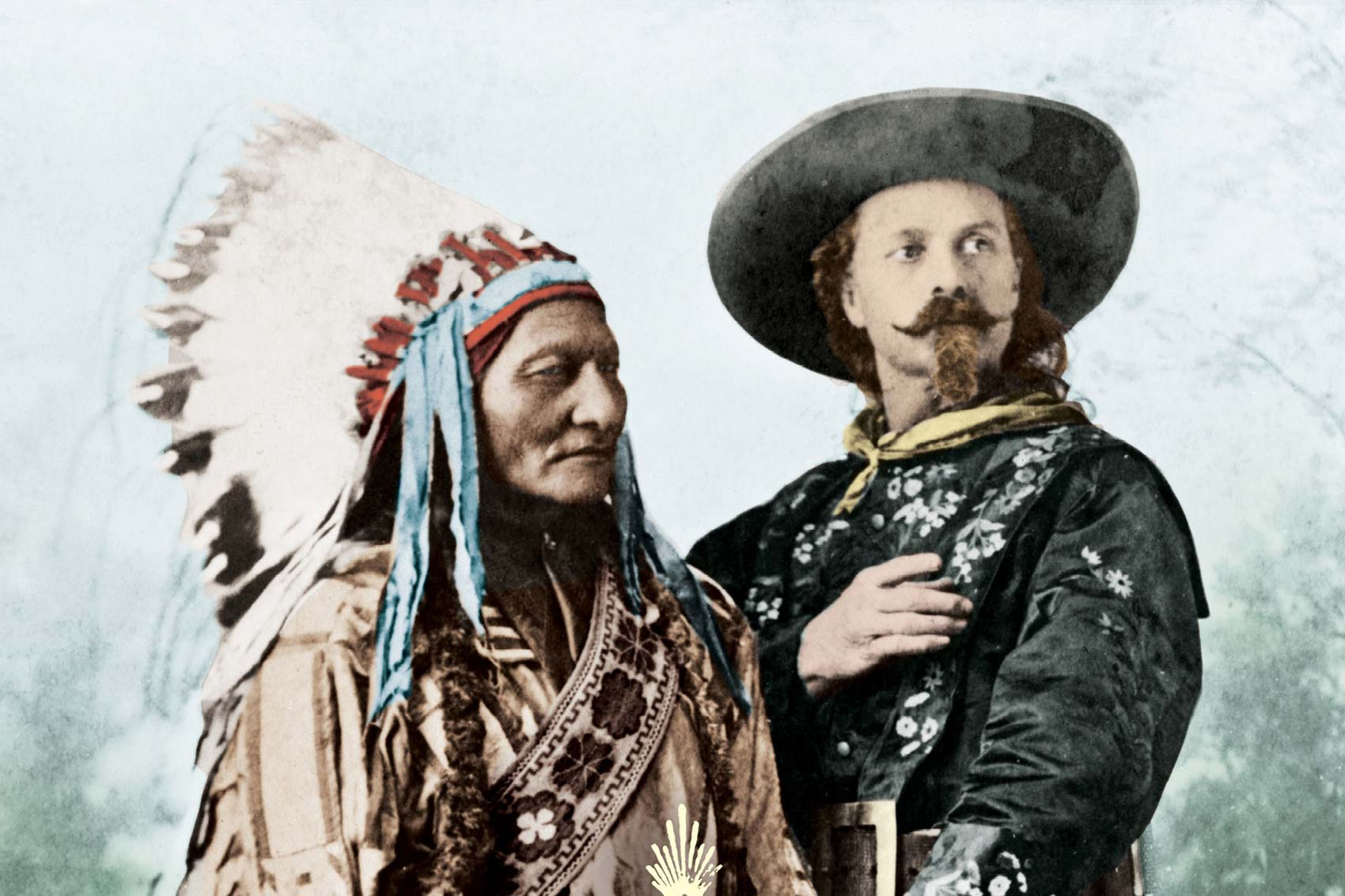 sitting bull avec buffalo bill