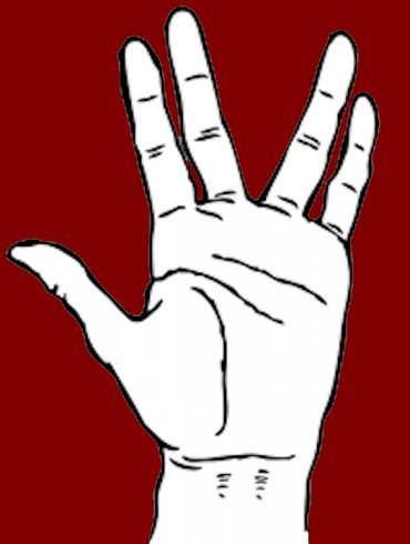 hand of spock